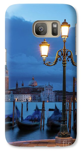 Galaxy Case featuring the photograph Venice Dawn V by Brian Jannsen