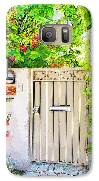 Galaxy Case featuring the photograph Venice Gate by Chuck Staley