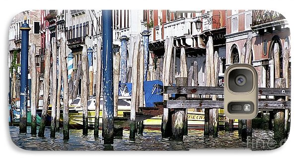Galaxy Case featuring the photograph Venice Grand Canal by Allen Beatty