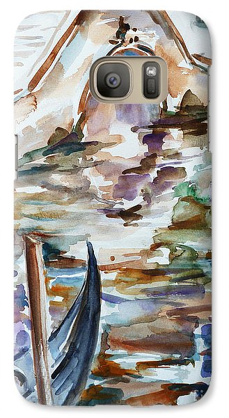 Galaxy Case featuring the painting Venice Impression I by Xueling Zou