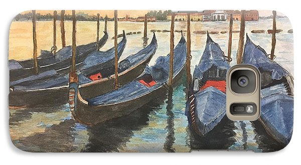 Galaxy Case featuring the painting Venice by Lucia Grilletto