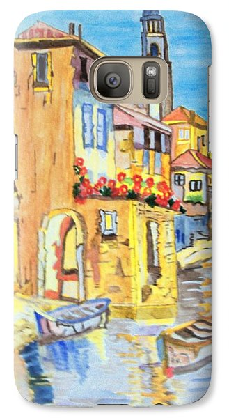Galaxy Case featuring the painting Venice On A Summer Afternoon by Connie Valasco