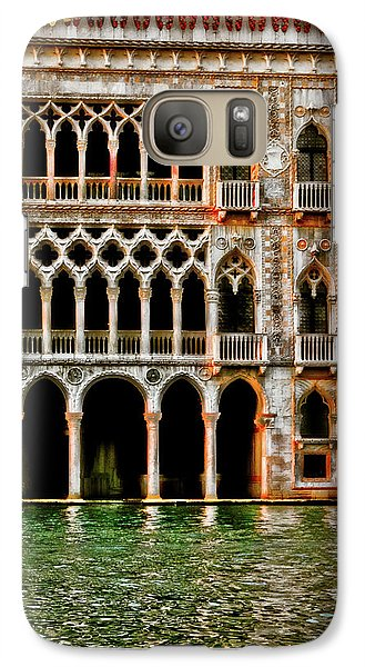 Galaxy Case featuring the photograph Venice Palace  by Harry Spitz