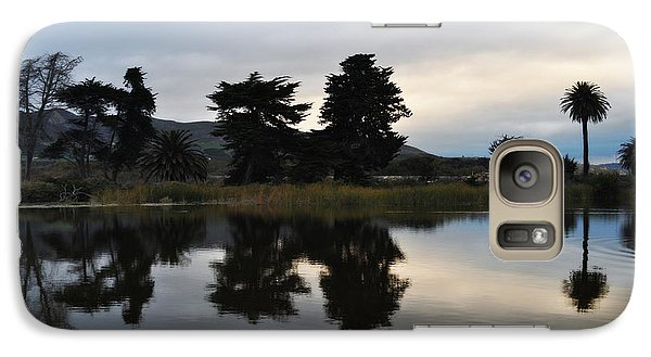 Galaxy Case featuring the photograph Ventura California Coast Estuary by Kyle Hanson