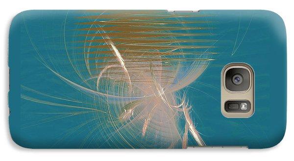 Galaxy Case featuring the digital art Venus Born Out Of The Sea by Menega Sabidussi