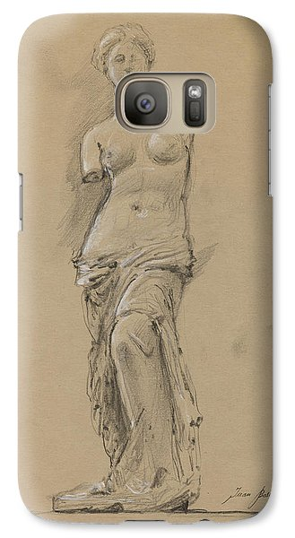 Louvre Galaxy S7 Case - Venus De Milo by Juan Bosco