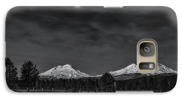 Galaxy Case featuring the photograph Venus Over Three Sisters by Cat Connor