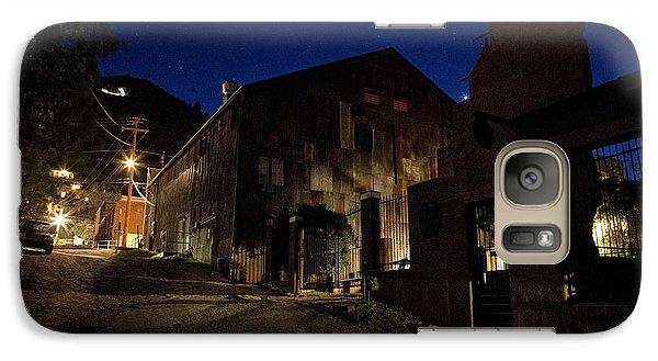 Galaxy Case featuring the photograph Venus Setting In Jerome Az by Ron Chilston