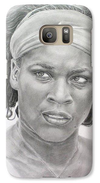 Venus Williams Galaxy S7 Case by Blackwater Studio