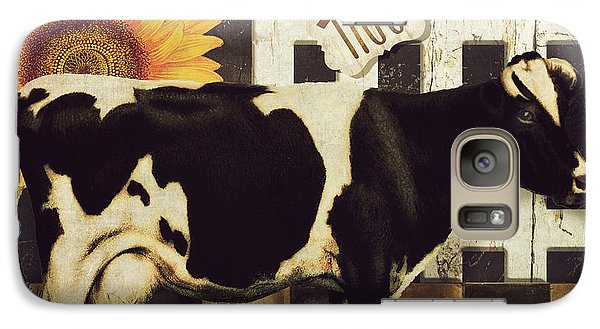 Cow Galaxy S7 Case - Vermont Farms Cow by Mindy Sommers