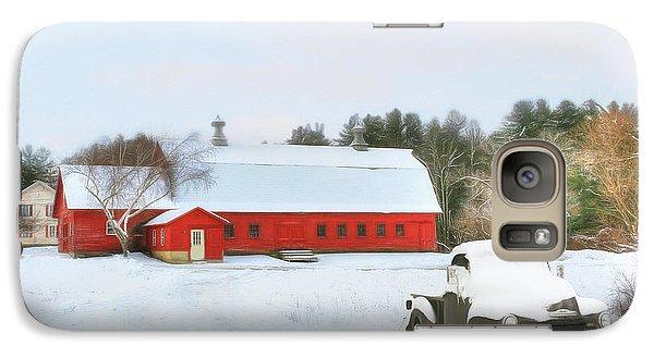 Galaxy Case featuring the digital art Vermont Memories by Sharon Batdorf