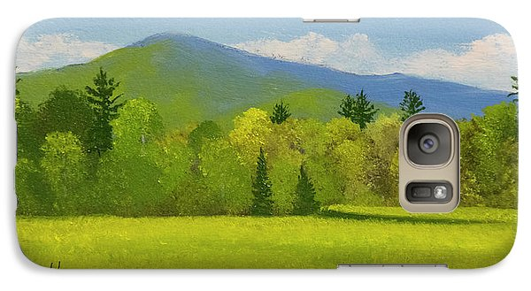 Galaxy Case featuring the painting Vermont Spring by Frank Wilson