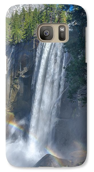 Galaxy Case featuring the photograph Vernal Fall Yosemite National Park by Scott McGuire