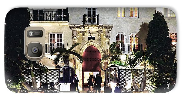 Galaxy Case featuring the photograph Versace Mansion South Beach by Gary Dean Mercer Clark