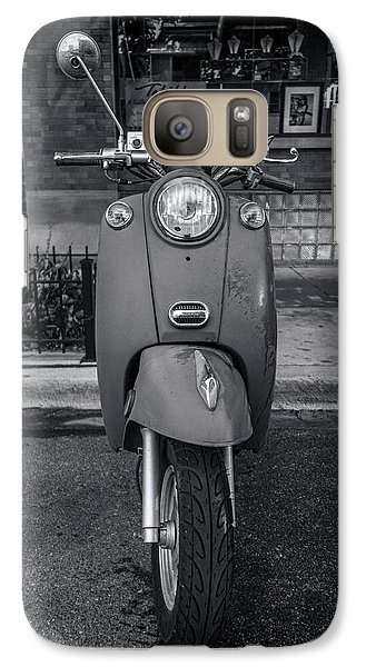 Galaxy Case featuring the photograph Vespa by Sebastian Musial