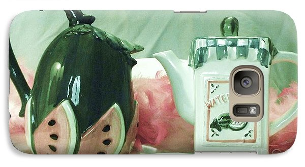 Galaxy Case featuring the photograph Vessels by Donna Dixon