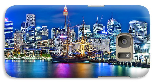 Vibrant Darling Harbour Galaxy S7 Case