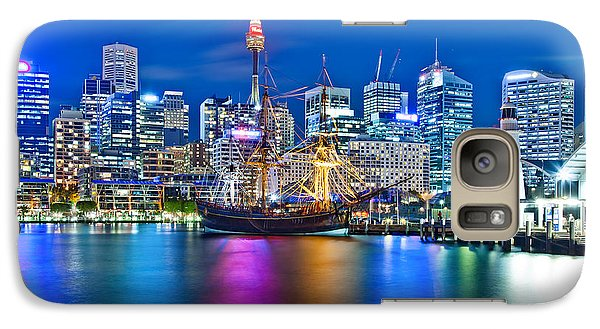 Vibrant Darling Harbour Galaxy S7 Case by Az Jackson