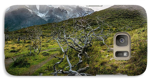Galaxy Case featuring the photograph Vibrant Desolation by Andrew Matwijec