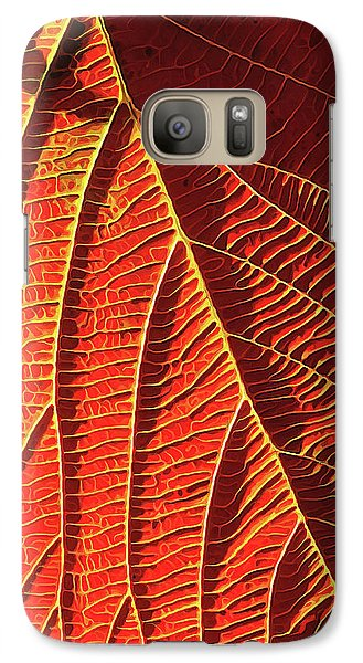 Galaxy Case featuring the digital art Vibrant Viburnum by ABeautifulSky Photography