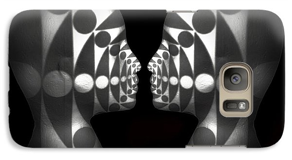 Galaxy Case featuring the photograph Vibrating Forms by Jeff  Gettis