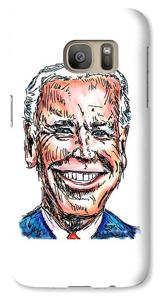 Vice President Joe Biden Galaxy S7 Case by Robert Yaeger