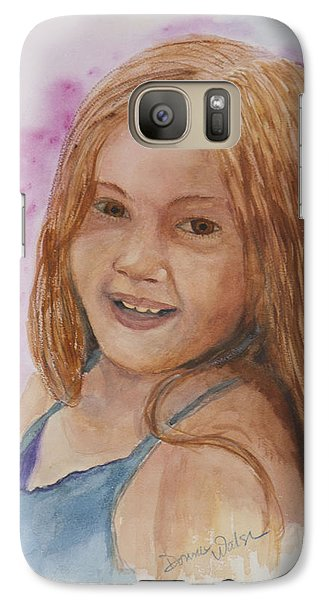 Galaxy Case featuring the painting Victoria by Donna Walsh