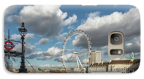 London Eye Galaxy S7 Case - Victoria Embankment by Adrian Evans