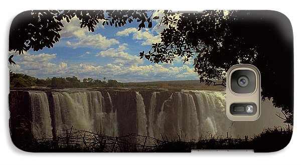 Victoria Falls, Zimbabwe Galaxy S7 Case