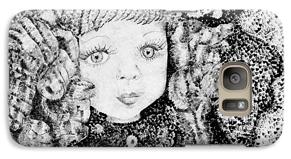 Galaxy Case featuring the painting Victoria by Jane Autry