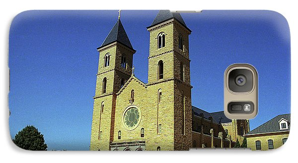 Galaxy Case featuring the photograph Victoria, Kansas - Cathedral Of The Plains 6 by Frank Romeo