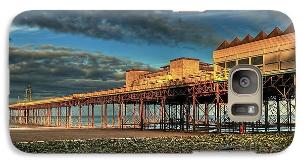 Galaxy Case featuring the photograph Victoria Pier 1899 by Adrian Evans