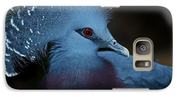 Galaxy Case featuring the photograph Victorian Crowned Pigeon by JT Lewis