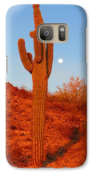 Victor's Harvest Moonset Galaxy S7 Case