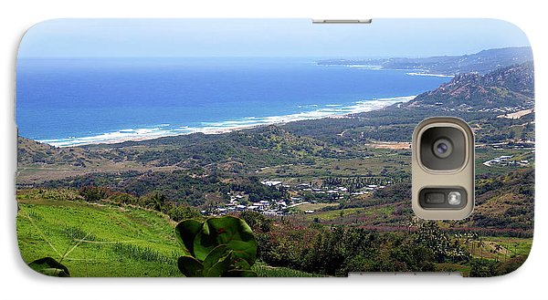 Galaxy Case featuring the photograph View From Cherry Hill, Barbados by Kurt Van Wagner