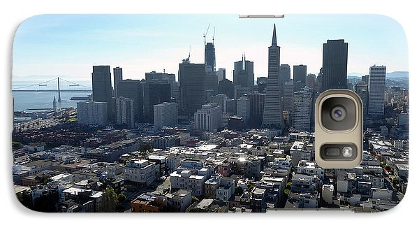 Galaxy Case featuring the photograph View From Coit Tower by Steven Spak