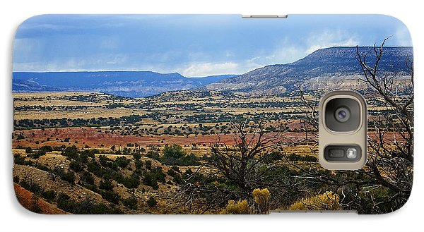 Galaxy Case featuring the photograph View From Ghost Ranch, Nm by Kurt Van Wagner