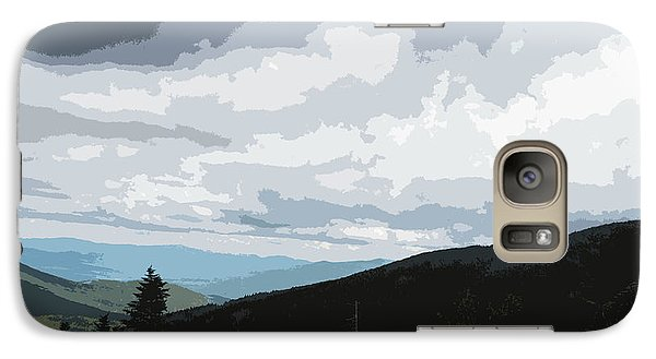 Galaxy Case featuring the photograph View From Mount Washington II by Suzanne Gaff