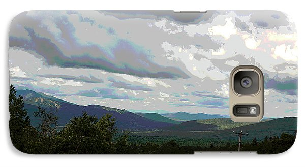 Galaxy Case featuring the photograph View From Mount Washington IIi by Suzanne Gaff