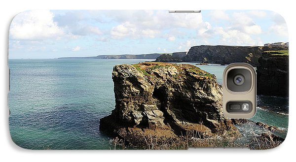 Galaxy Case featuring the photograph View From Porth Peninsula by Nicholas Burningham