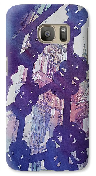 Westminster Abbey Galaxy S7 Case - View From The Cloister by Jenny Armitage