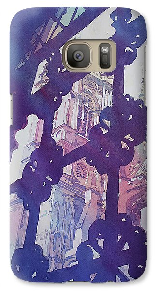 View From The Cloister Galaxy S7 Case by Jenny Armitage