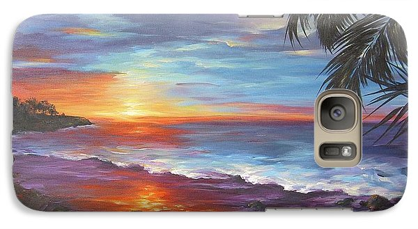 Galaxy Case featuring the painting View From The Hammock  by Dina Dargo