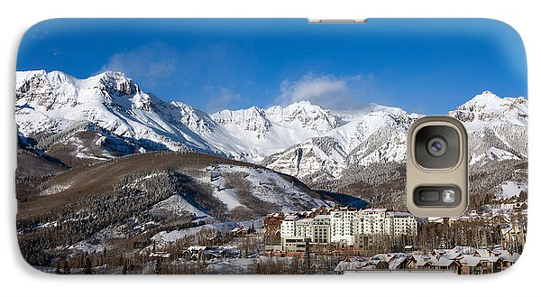 Galaxy Case featuring the photograph View From The Mountain Above Telluride by Carol M Highsmith