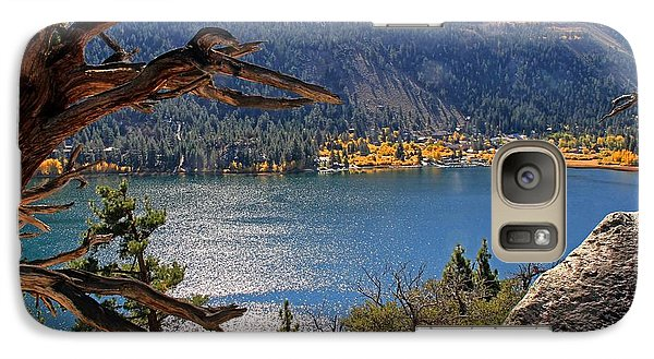 Galaxy Case featuring the photograph View From The Top Of June Lake by Donna Kennedy