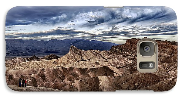 View From Zabriskie Point  Galaxy S7 Case