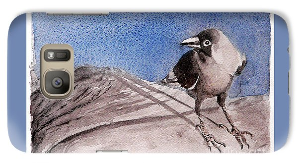 Galaxy Case featuring the painting View by Jasna Dragun