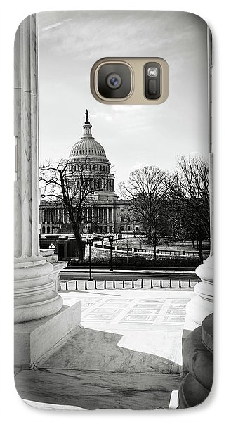 View Of Capitol Hill Through The Supreme Court Galaxy S7 Case