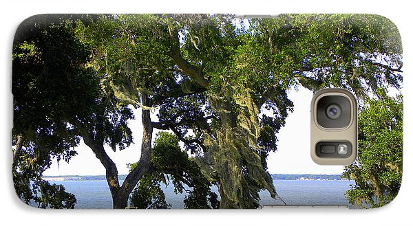 Galaxy Case featuring the photograph View Of Old Tampa Bay by Terri Mills