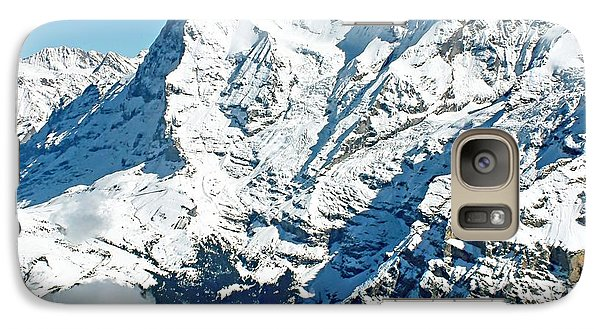 Galaxy Case featuring the photograph View Of The Eiger From The Piz Gloria by Joseph Hendrix